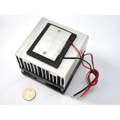 peltier thermo electric cooler module heatsink assembly 12v 5a at mg super labs india. Black Bedroom Furniture Sets. Home Design Ideas