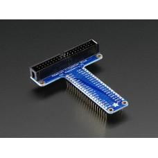 Assembled Pi T-Cobbler Plus - GPIO Breakout for RasPi A+/B+/Pi 2