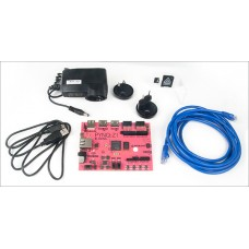 PYNQ-Z1+ Accessory Kit (includes microSD card, Ethernet cable, micro USB, and power supply)