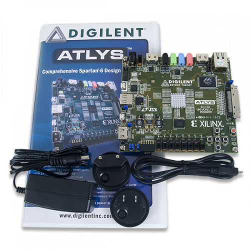 Atlys Spartan-6 FPGA Trainer Board