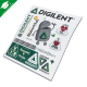 Digilent Sticker Sheet