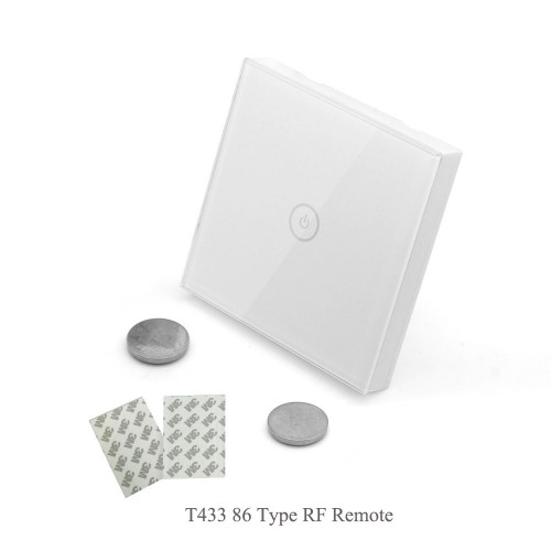 Sonoff T1 UK: 1-3 Gang WiFi & RF 86 Type Smart Wall Touch