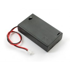 4-AAA Battery Holder, Enclosed with switch
