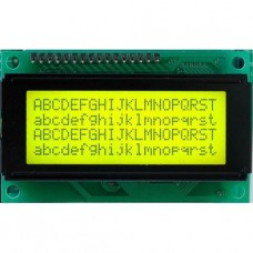 20X4 Character LCD (Green)