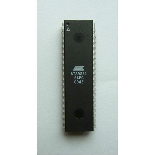 At89c51 8 Bit Microcontroller 40 Pin At Mg Super Labs India