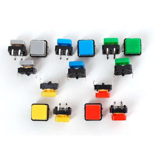 Push Button Switch 12mm With Square Cap At Mg Super Labs India