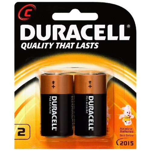 Duracell C Battery Pack Of 2 At Mg Super Labs India