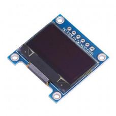 """0.96"""" OLED Display Module - SPI/I2C - 128X64 - 6 Pin (Blue)"""