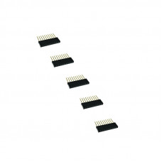 Stackable header - 2.54mm 10 Pin 10mm(Pack of 5)