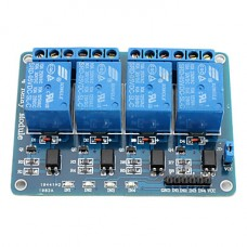 Relay Module With Optoisolator - 4 Channel