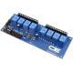 8-Channel General Purpose SPDT Relay Controller with I2C Interface