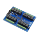 16-Channel General Purpose SPDT Relay Controller with I2C Interface