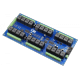 24-Channel General Purpose SPDT Relay Controller + 8 GPIO with I2C Interface