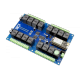 16-Channel General Purpose SPDT Relay Shield with IoT Interface