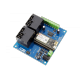 2-Channel High-Power Relay Controller Shield + 6 GPIO with IoT Interface