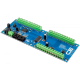 8-Channel Analog to Digital Converter 12-Bit + 8-Channel Digital IO +8-Channel Open Collector with I2C Interface