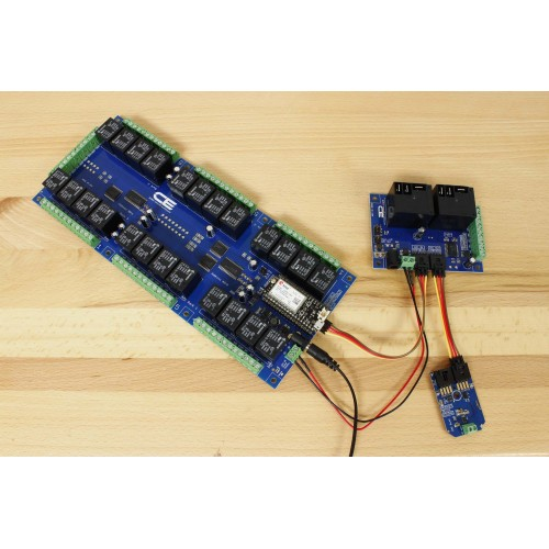MCP23008 I2CIO6R2x0 2-Channel High-Power Relay Controller + 6 GPIO with I2C  Interface