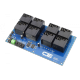 8-Channel High-Power Relay Controller with I2C Interface