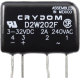 Crydom D2W202F 2A 240VAC Zero-Cross Solid State Relay for Resistive Loads (Type A)