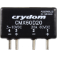 Crydom CMX60D20 20A@60VDC DC Solid State Relay (Requires Forced Air Cooling) (Type G)
