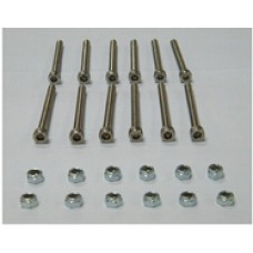 A Set of M5 x 35mm Stainless Steel Inner Hex Head Screw