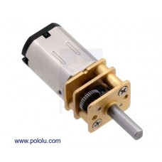 30:1 Micro Metal Gearmotor MP 6V