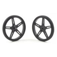 Pololu Wheel 70×8mm Pair - Black