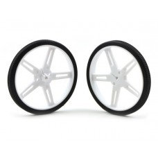 Pololu Wheel 70×8mm Pair - White