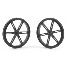 Pololu Wheel 90x10mm Pair- Black
