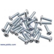 Machine Screw: #4-40, 3/8″ Length, Phillips (25-pack)