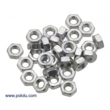 Machine Hex Nut: M2.5 (25-pack)