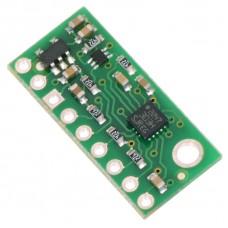 LSM303D 3D Compass and Accelerometer Carrier with Voltage Regulator
