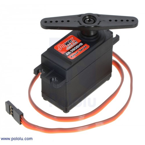 Power Hd Continuous Rotation Servo Ar 3606hb At Mg Super