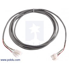 10ft Extension Cable for Glideforce Light-Duty/Medium-Duty Linear Actuators with Feedback
