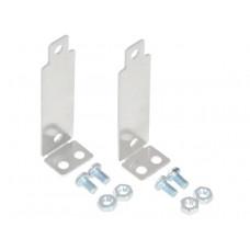 Bracket Pair for Sharp GP2Y0A02, GP2Y0A21, and GP2Y0A41 Distance Sensors - Perpendicular