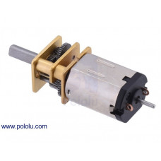75:1 Micro Metal Gearmotor HPCB 12V with Extended Motor Shaft