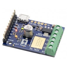Tic T825 USB Multi-Interface Stepper Motor Controller (Connectors Soldered)
