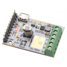 Tic T834 USB Multi-Interface Stepper Motor Controller (Connectors Soldered)