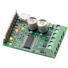 Tic 36v4 USB Multi-Interface High-Power Stepper Motor Controller (Connectors Soldered)