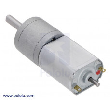 63:1 Metal Gearmotor 20Dx43L mm 6V CB with Extended Motor Shaft