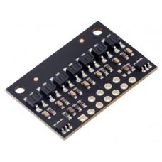 QTR-HD-07RC Reflectance Sensor Array: 7-Channel, 4mm Pitch, RC Output