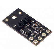 QTRX-HD-02A Reflectance Sensor Array: 2-Channel, 4mm Pitch, Analog Output, Low Current