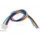 6-Pin Single-Ended Female JST SH-Style Cable 12cm