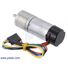 99:1 Metal Gearmotor 25Dx69L mm HP 12V with 48 CPR Encoder