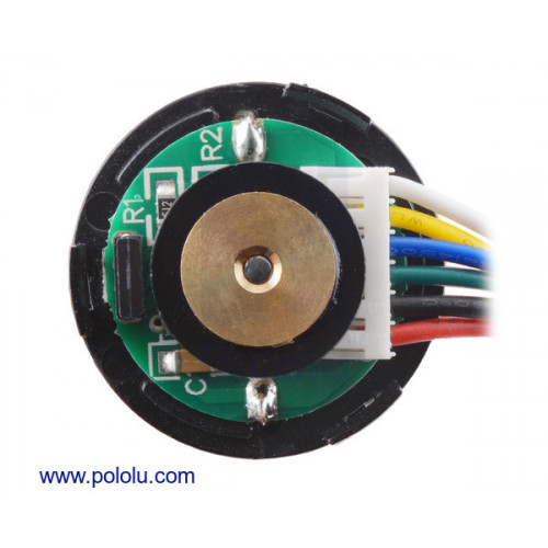 99:1 Metal Gearmotor 25Dx69L mm MP 12V with 48 CPR Encoder at MG
