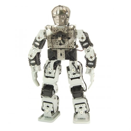 how to build a humanoid robot pdf