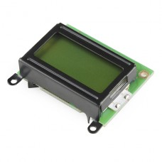 Basic 8x2 Character LCD - Black on Green 5V