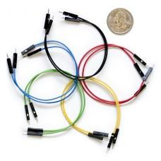 """Jumper Wires Premium 6"""" M/F Pack of 10"""