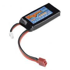 Polymer Lithium Ion Battery - 1000mAh 7.4v