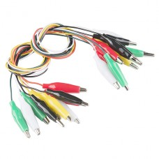 Alligator Test Leads - Multicolored (Pack of 10)